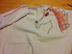 Wyld Stallyns logo horse
