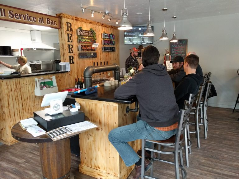 Burnt Timber Brewing and Tavern bar, Wolfeboro, NH