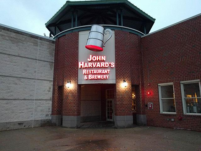 John Harvard's in Framingham, MA