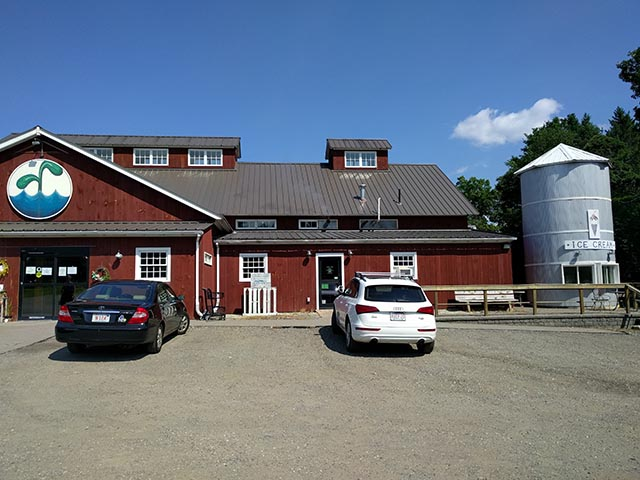 Start Line Brewing at the Water Fresh Farm in Hopkinton, MA