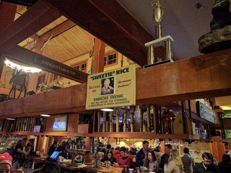 Woodstock Inn Brewery, North Woodstock NH