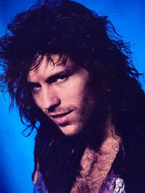 Blogging about music helps you meet famous people like Kip Winger.